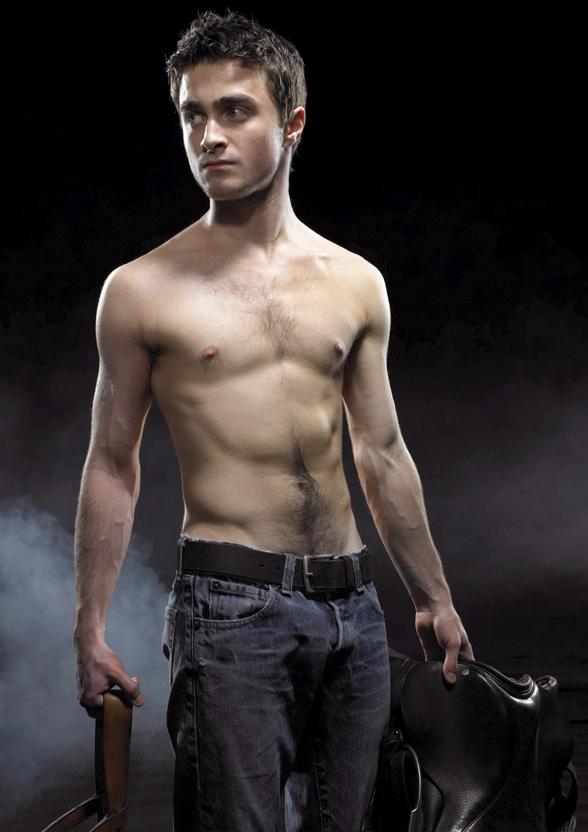 No one could see this coming. Damn Harry Potter is hot!! Daniel Radcliffe