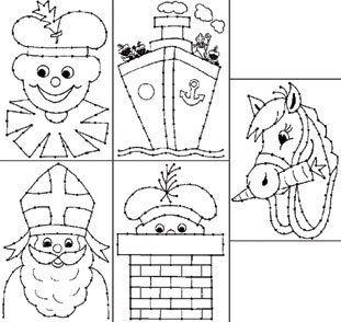 Quatang Gallery- Borduurkaarten Sint En Piet Sinterklaas Sinterklaas Knutselen Sinterklaas Diy Sinterklaas