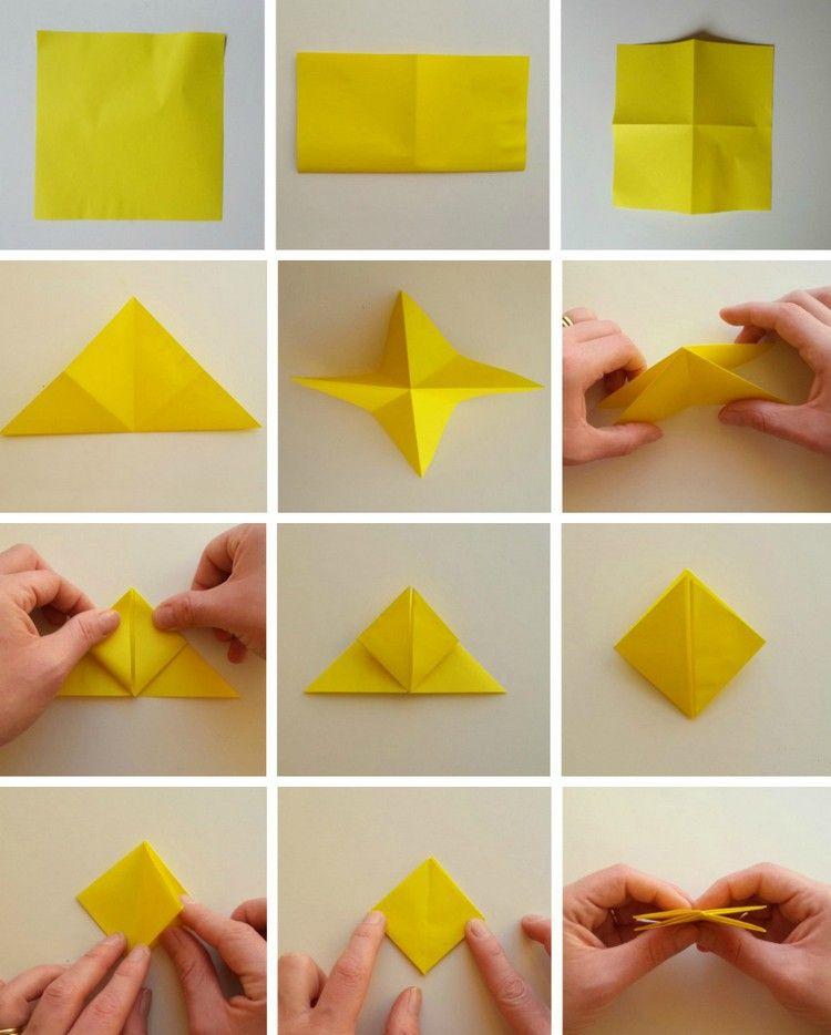Blumen Falten Origami