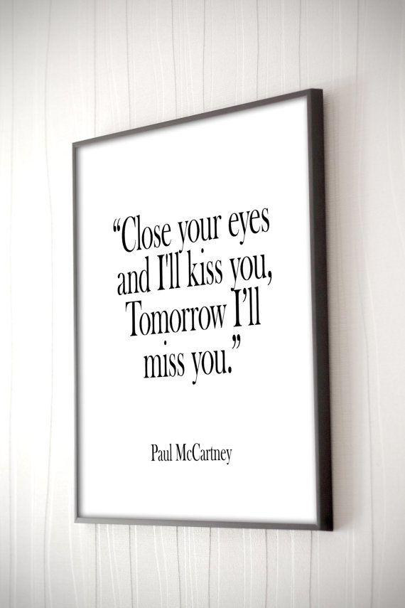Lyric let it be the beatles lyrics : Paul McCartney song Lyrics, Romantic Art, Music Poster, Love Quote ...