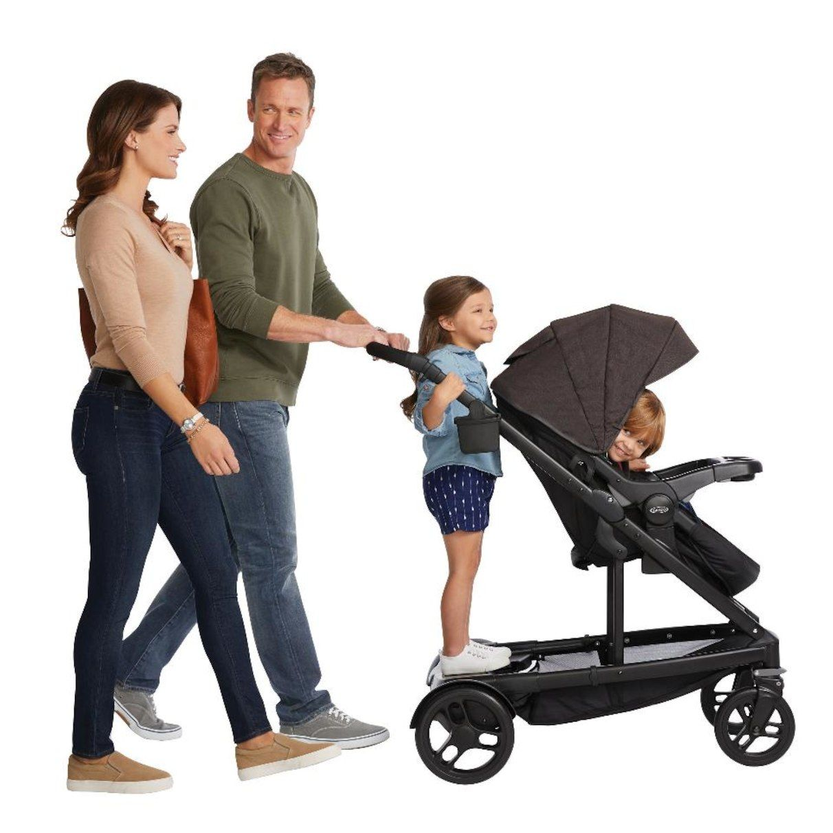 Uno2duo Stroller Graco Uno2duo Travel System Ace Single Stroller Travel