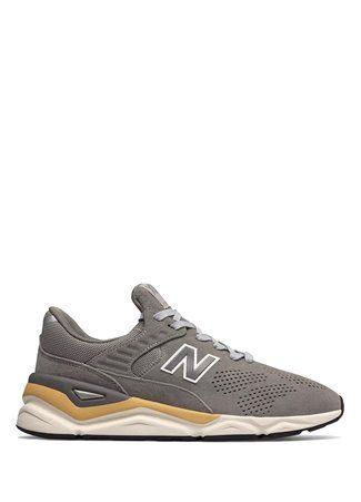 82986bb827dfc NewBalance - New Balance Erkek X90 Gri Süet Sneaker 44 EU   Brand ...