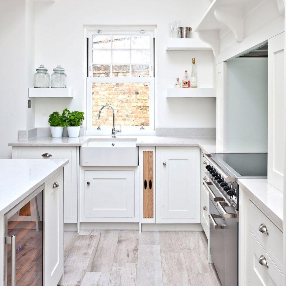 White kitchen ideas - 16 schemes that are clean, bright ...