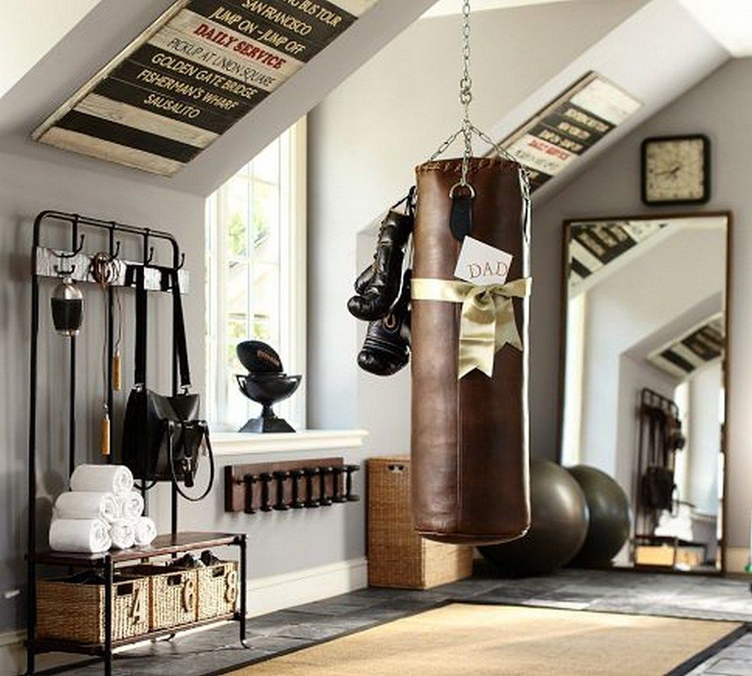 Small Space Home Gym Decorating Ideas (14