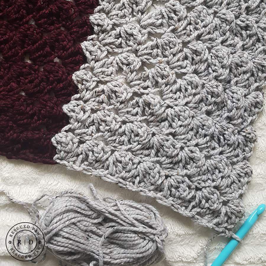 Charlotte Crochet Blanket a FREE pattern from RPD | Häkeln