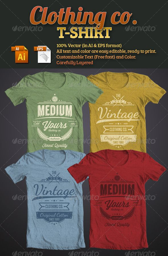 2 Design T Shirt Clothing Company With Vintage Retro Style