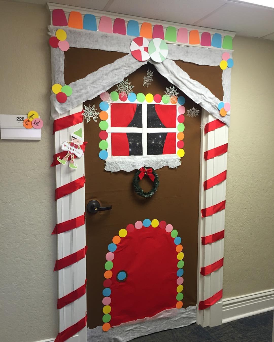 Christmas Door Decorations Diy christmas door, School