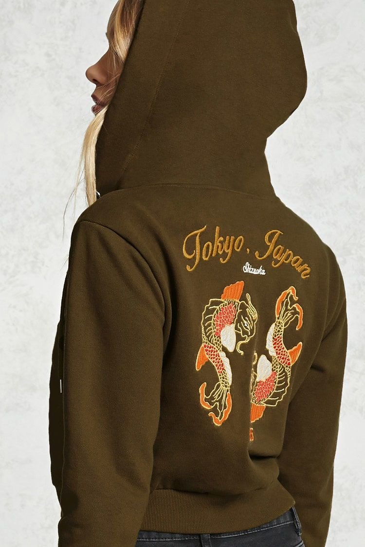 bb589b1f A French terry knit hoodie featuring an embroidered