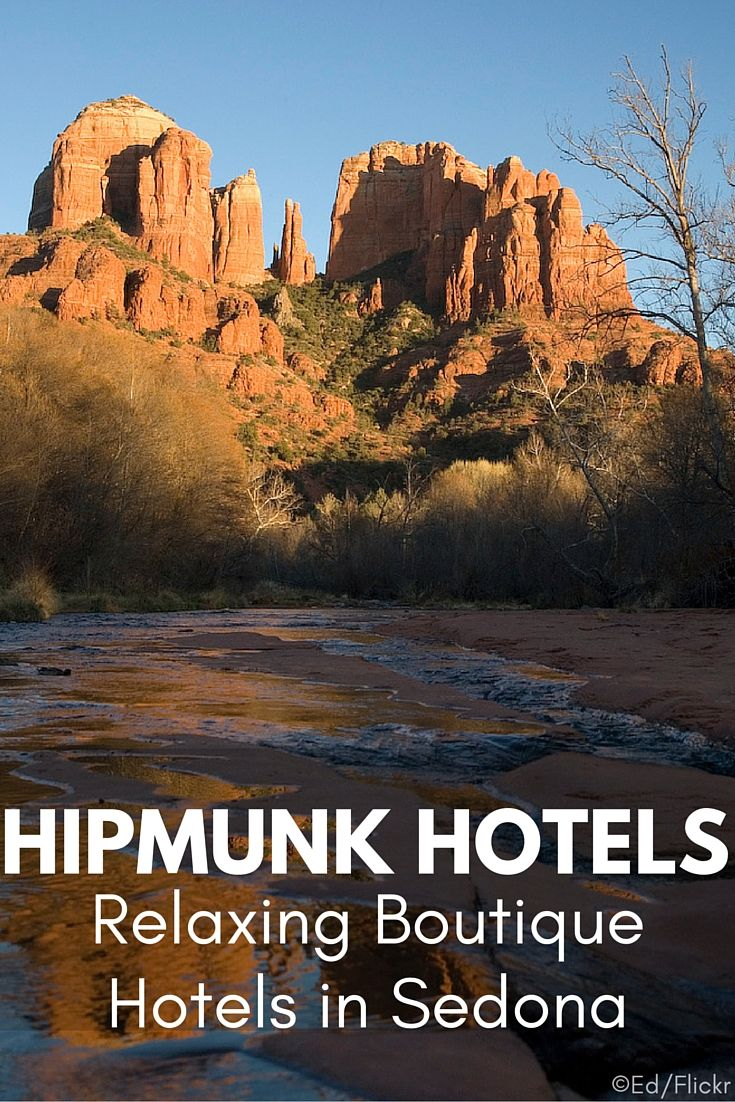 Sedona, Arizona is a paradise with scenic landscapes, natural surroundings, and even a vibrant art community. Check out boutique hotels in Sedona.