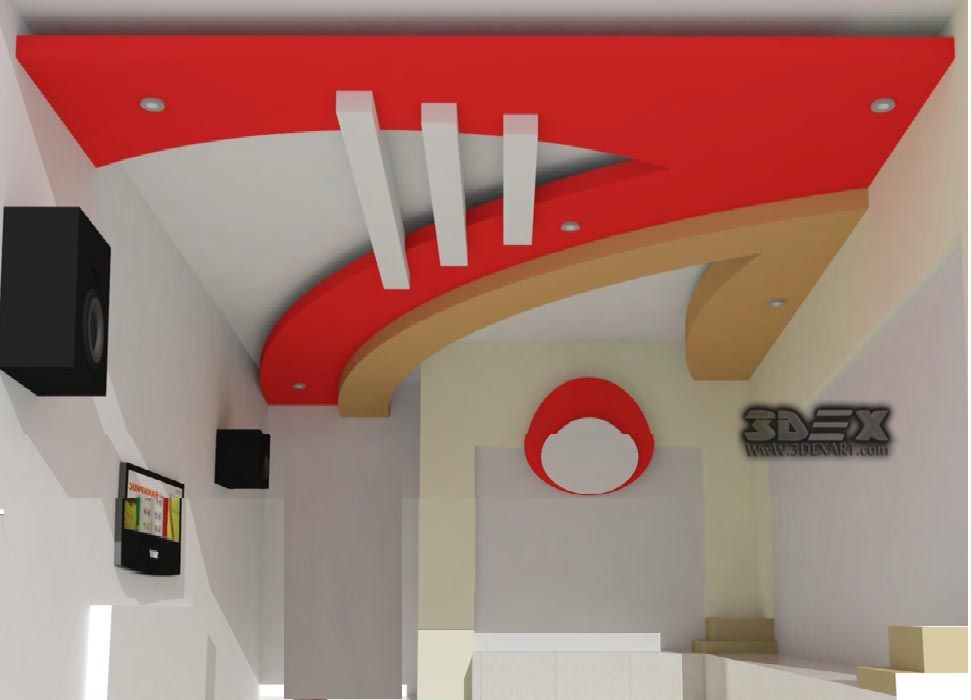 Latest Pop False Ceiling Design For Living Room Pop Design For Roof For Hall 2018 F Pop False Ceiling Design False Ceiling Design Bedroom False Ceiling Design