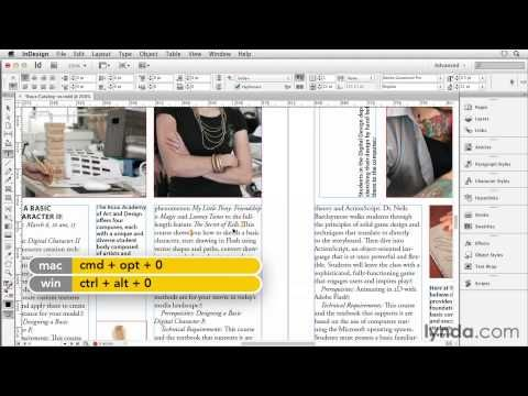 Indesign Tutorial Ten Uses Of The Story Editor Lynda Com Indesign Secrets Series Indesign Tutorials Adobe Indesign Tutorials Indesign