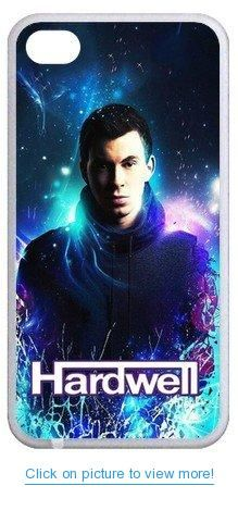 Accurate Store progressive and electro house DJ Hardwell Iphone 4,4S TPU Case Cover