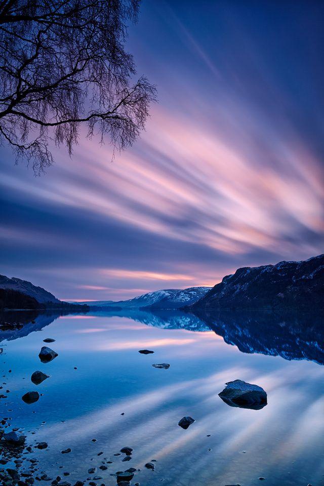 British Landscapes Sunrise At Ullswater Beautiful Landscapes Lake District Nature Photography