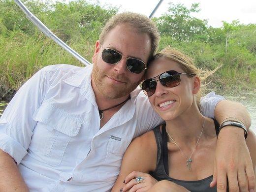 Josh Gates and Erin Ryder | Mens sunglasses, Sunglasses