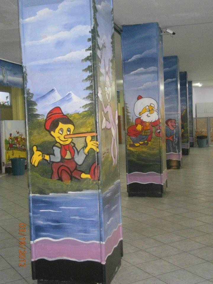 Güzel Okul Duvar Resimleri örnekleri Duvar Resmi Pinterest