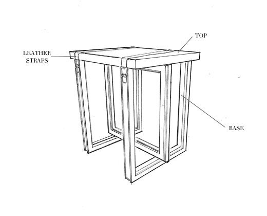 Side Table No Four Sketch