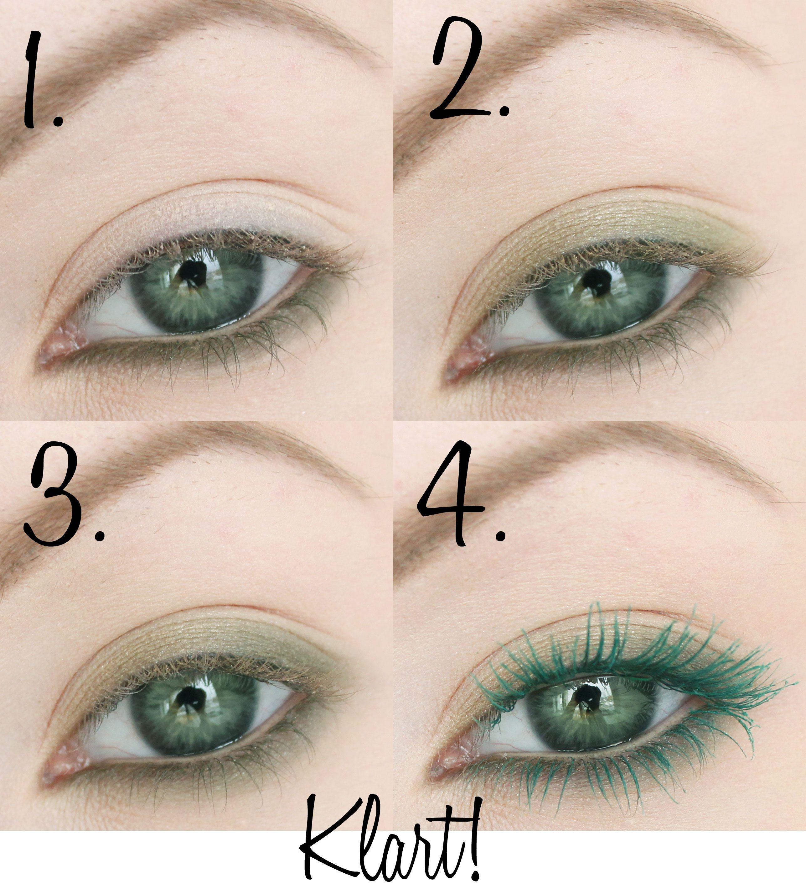 mascara för gröna ögon