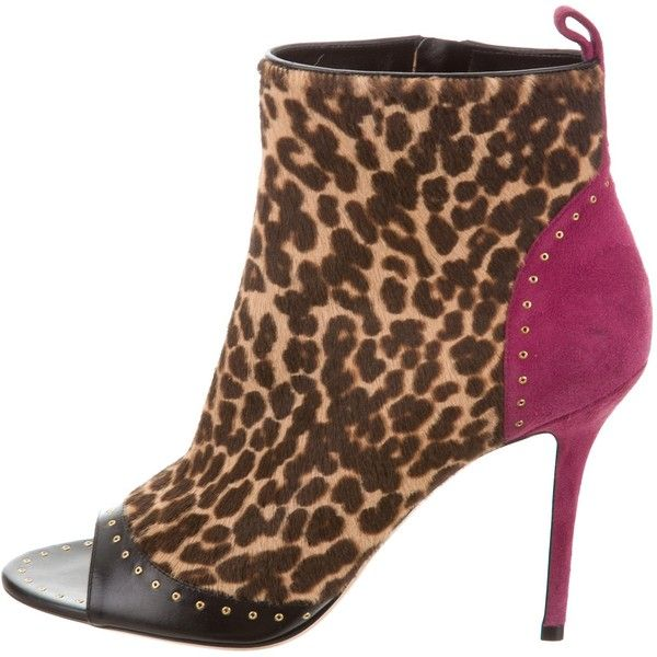 Salvatore Ferragamo Ponyhair Ankle Boots cheap sale fast delivery CRlrVA