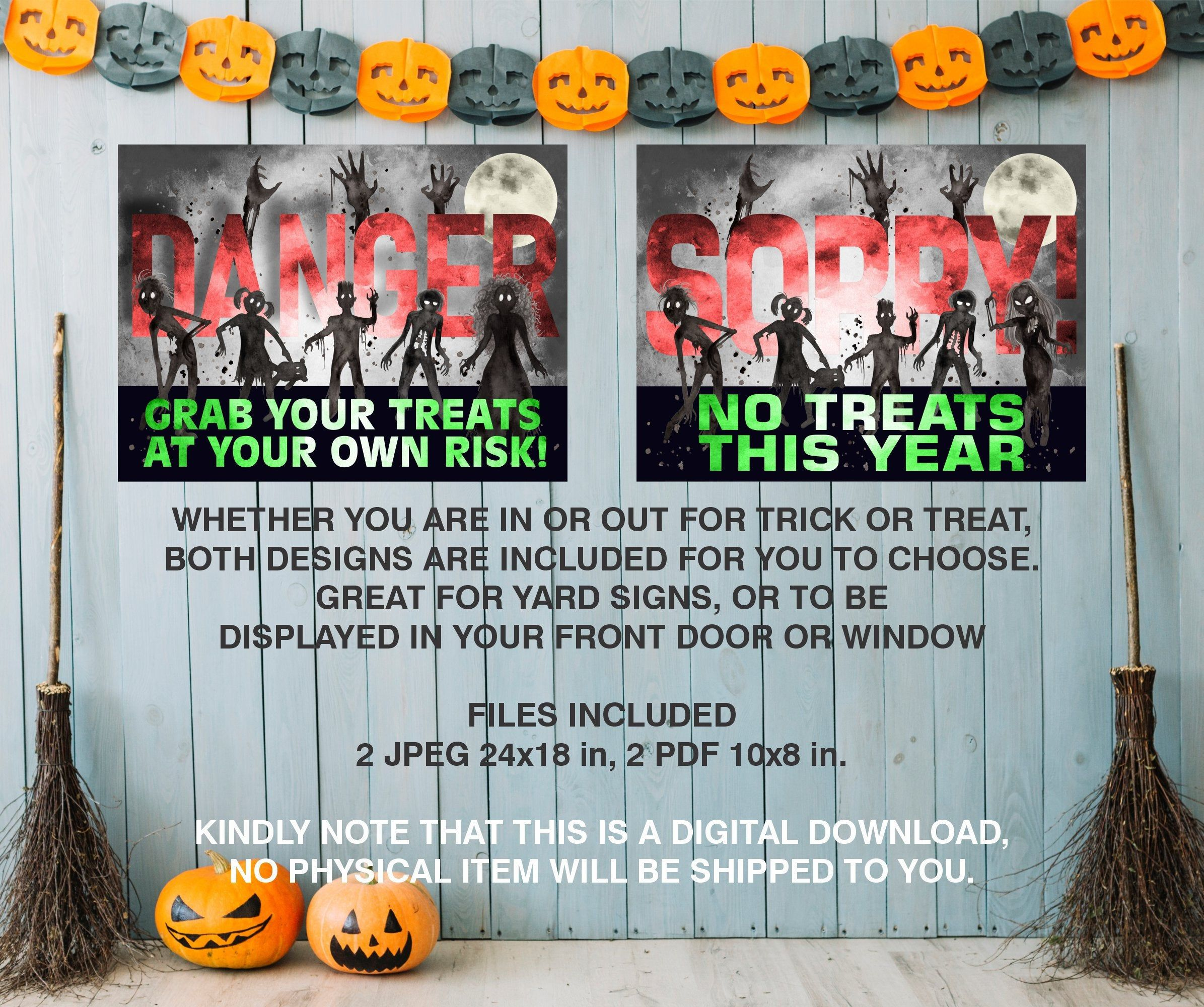 This Item Is Unavailable Etsy Halloween Yard Signs Halloween Social Halloween Yard