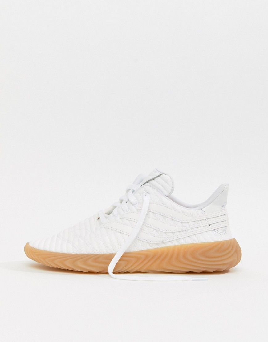 c4705a4477c ADIDAS ORIGINALS SOBAKOV SNEAKERS IN WHITE BB7666 - WHITE.  adidasoriginals   shoes