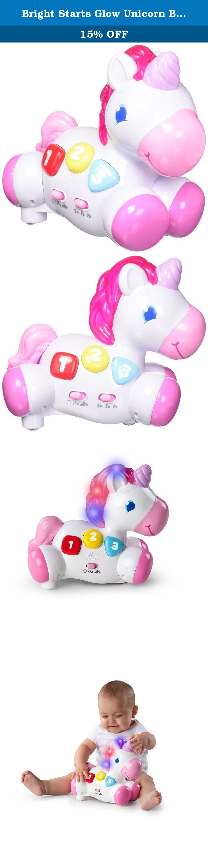 Bright Starts Glow Unicorn Baby Toy This adorable unicorn s