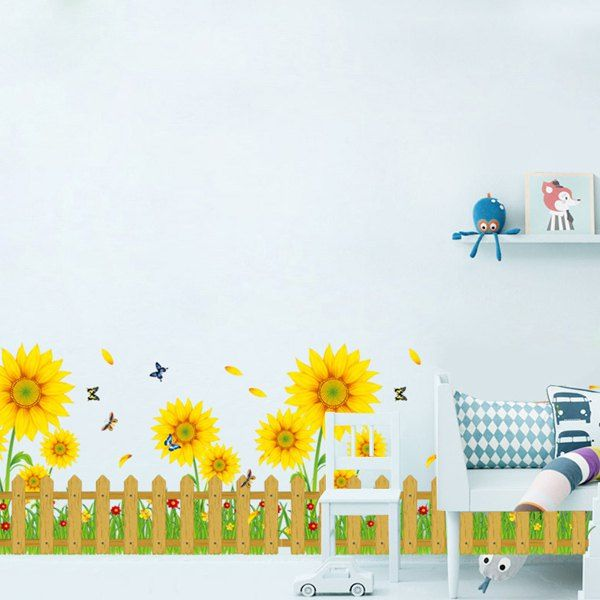 La vie continue style 2 Mur Art Autocollant Vinyle Autocollants Décor transferts
