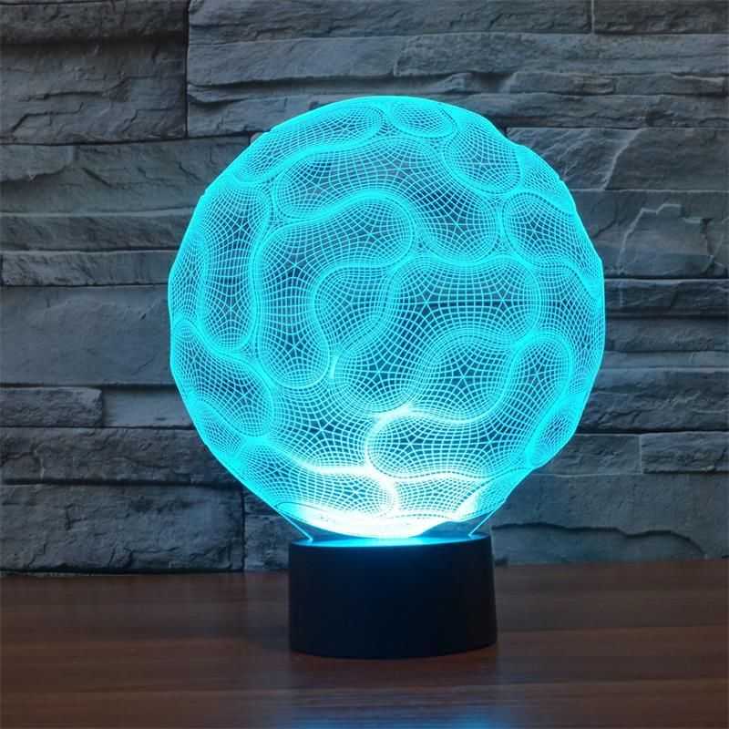 Brain 3d Optical Led Illusion Lamp Lampeez 3d Illusion Lamp 3d Led Night Light 3d Illusions