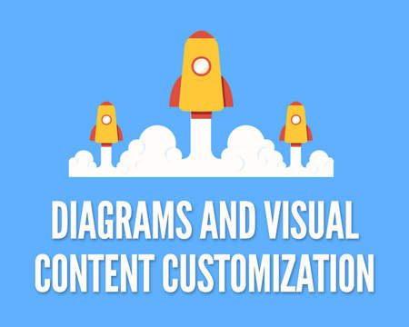 Customizing Diagrams and Visual Content for Presentation Designs by - winter powerpoint template