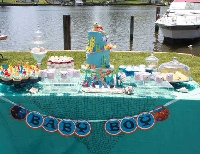 23 Enchanting Under The Sea Party Ideas Finding Nemo Boy Baby