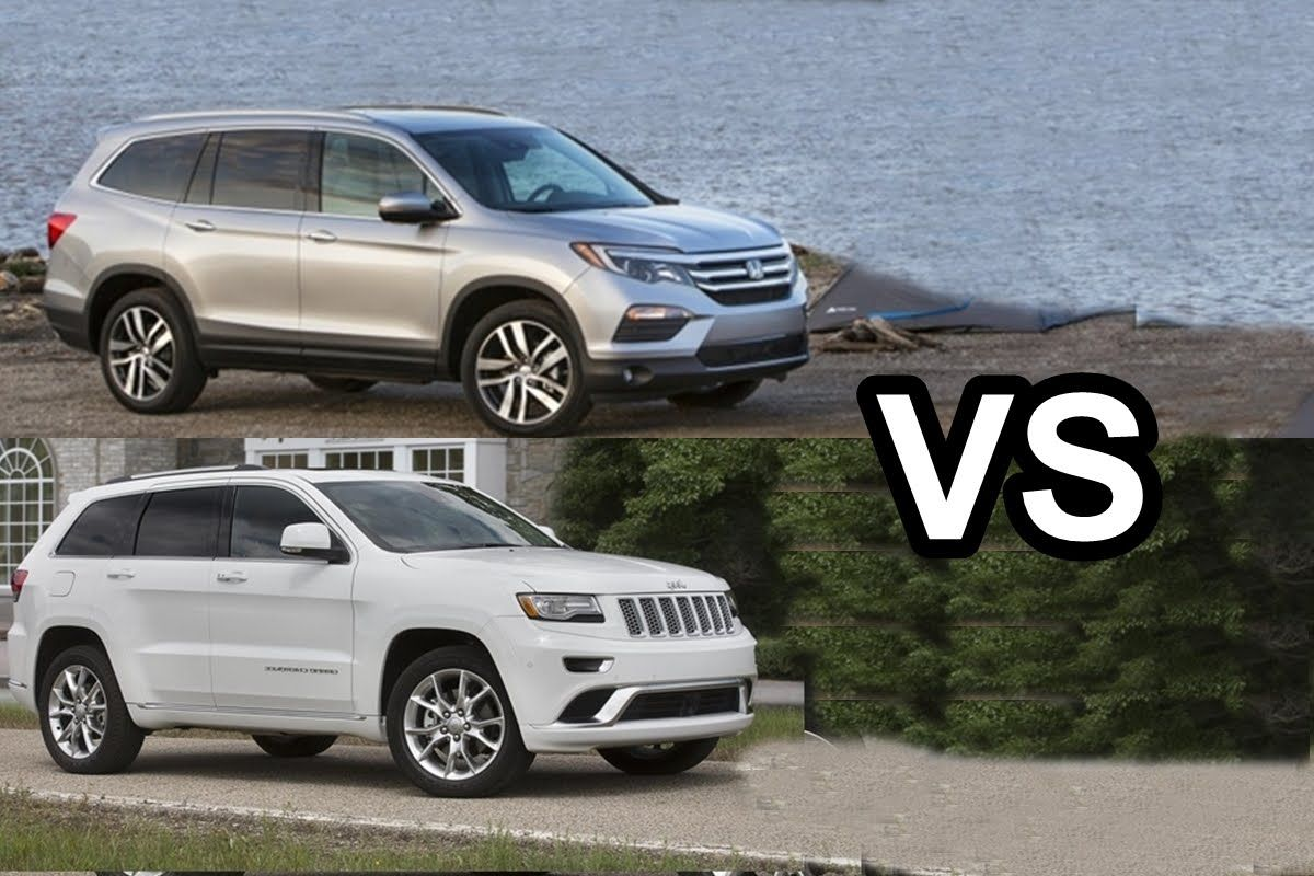 Great Honda Pilot Vs Jeep Grand Cherokee 2017 Jeep Http Ift Tt