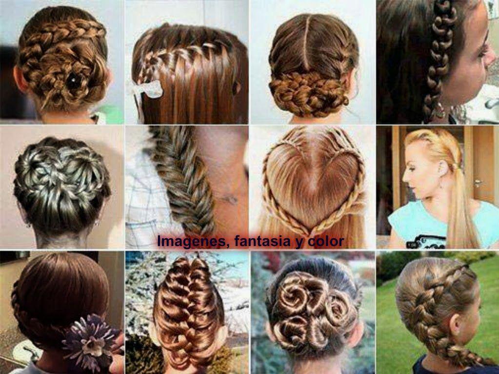 Peinados fantasia para ninas
