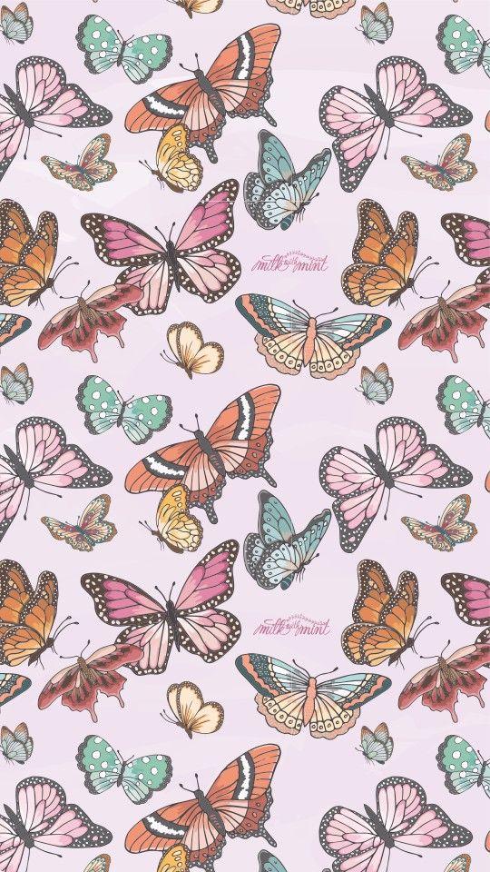 butterfly aesthetic in 2020   Butterfly wallpaper iphone ...