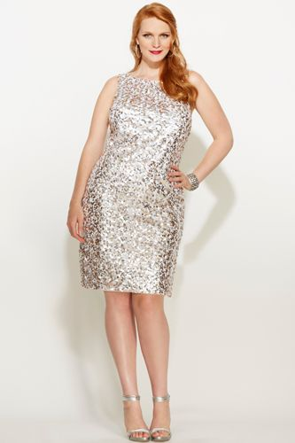 Plus-Size New Years Eve Dresses - Cute, Sparkly Styles Big girl