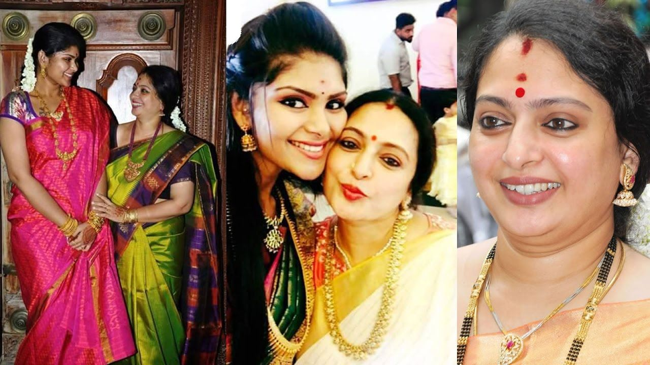 Actress Seetha Family Photos / Seetha Parthiban Family Photos ... for Serial Actress Priya Mohan Wedding Photos  177nar
