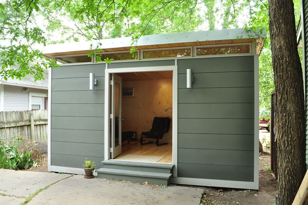 economy of space TINY HOUSE Pinterest Small studio Backyard