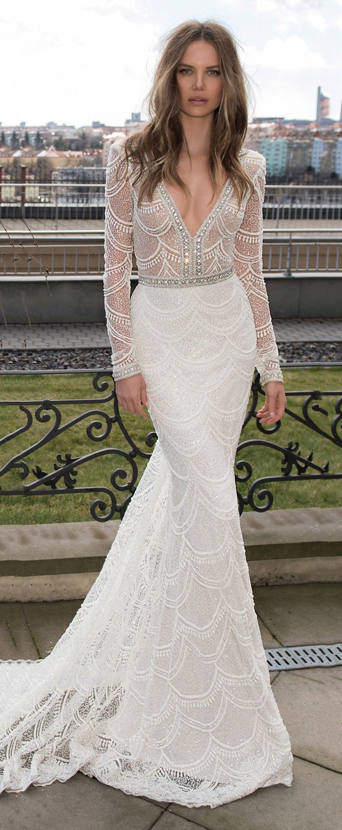 cbc228217 50 Vestidos de Noiva Incríveis | Vestidos | Wedding dress sleeves ...