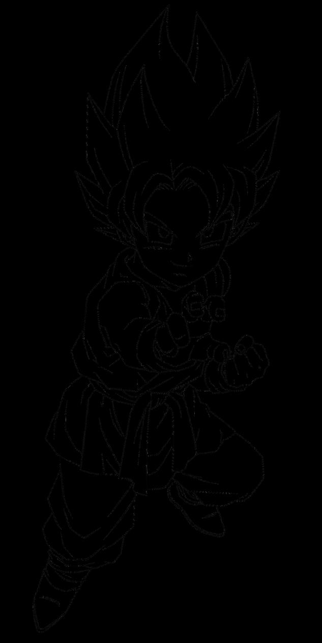Coloriage Dragon Ball Super