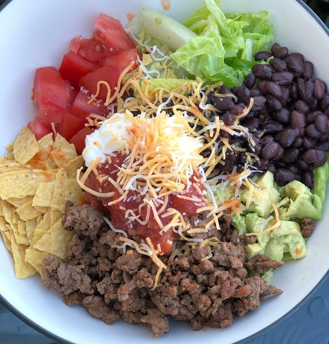 Ashley ww on instagram an instaworthy taco salad for
