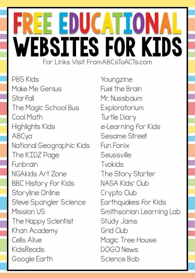 Online & offline resources to keep your child's mind active & learning while school is closed! - Happy & Handcrafted