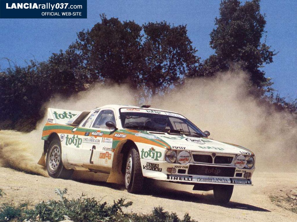 The Lancia 037 made its Group B rally debut in 1982 at the Rally ...