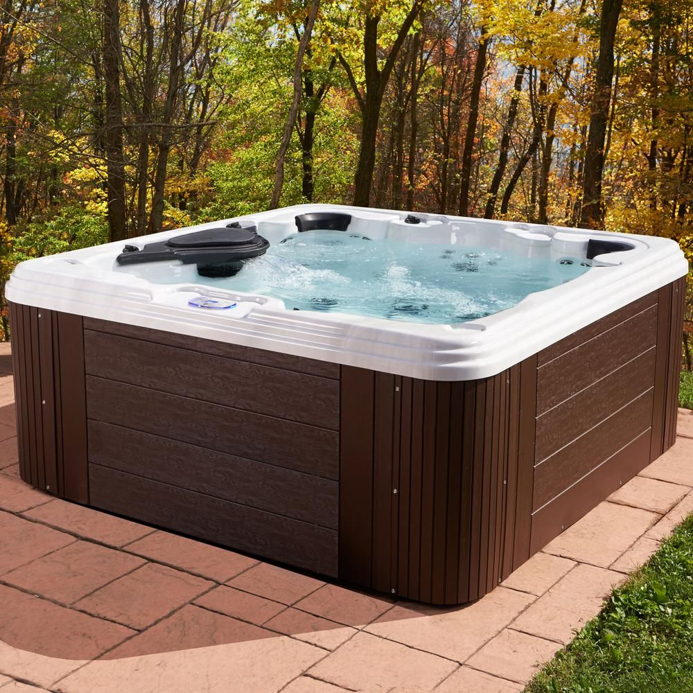 Aqualife providence 7person 60jet standard hot tub in