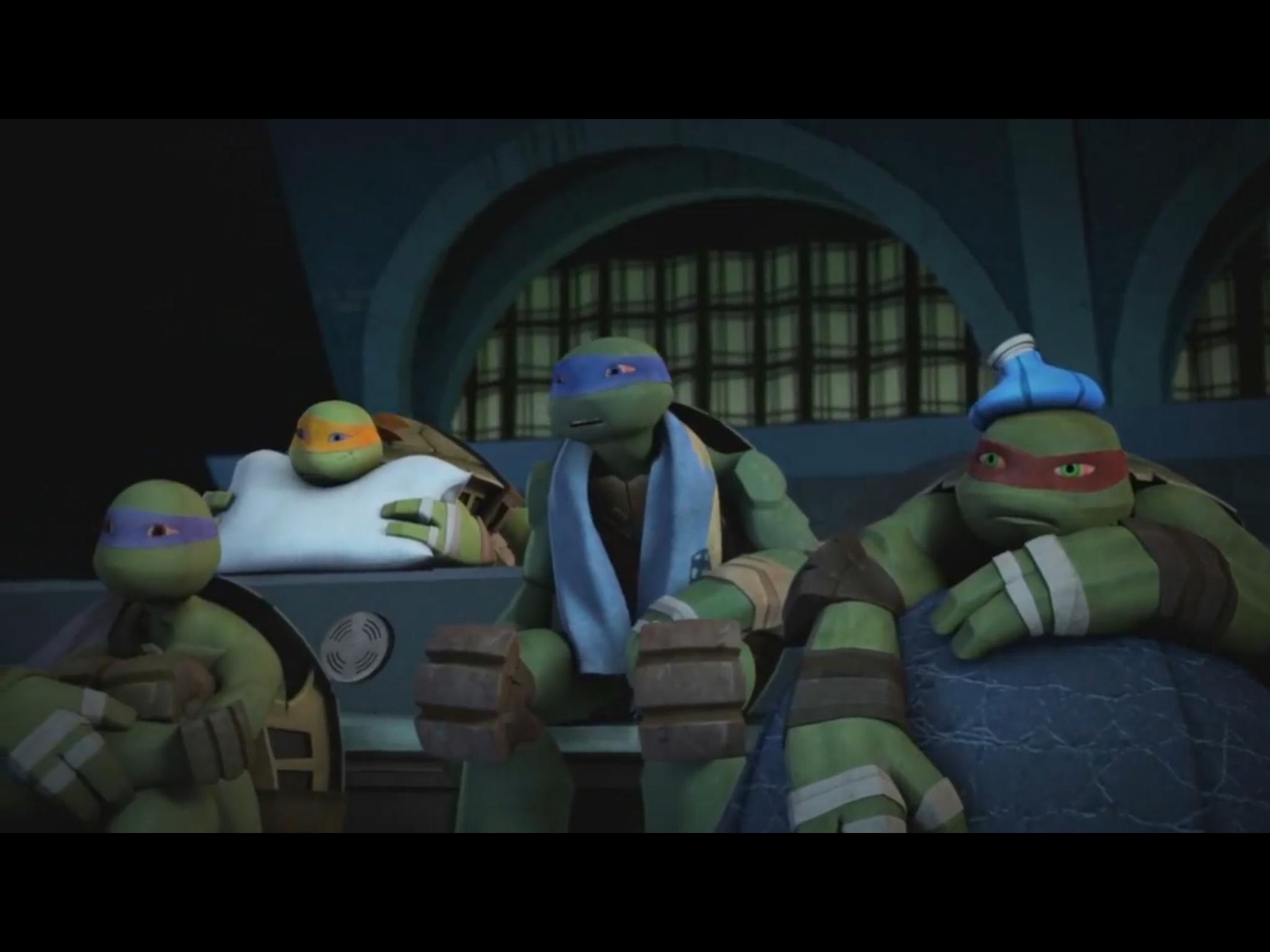 How the turtles are sick 😷 | Teenage Mutant Ninja Turtles