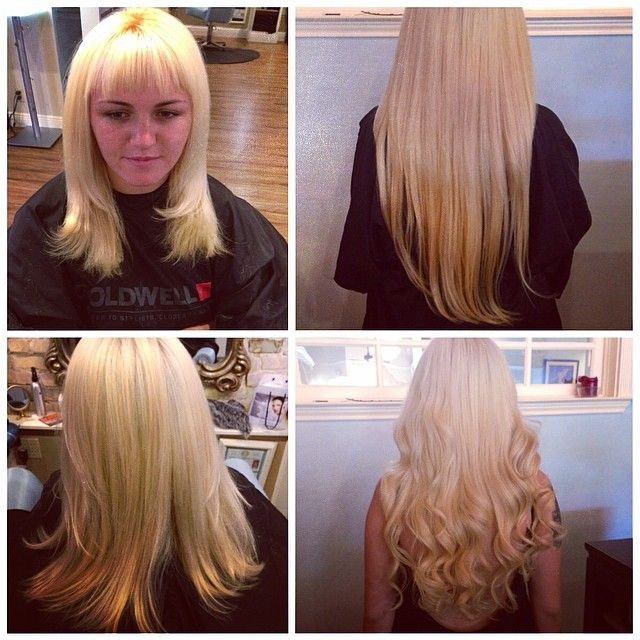 Before And After Hayley Added Some Serious Length To This Lovely