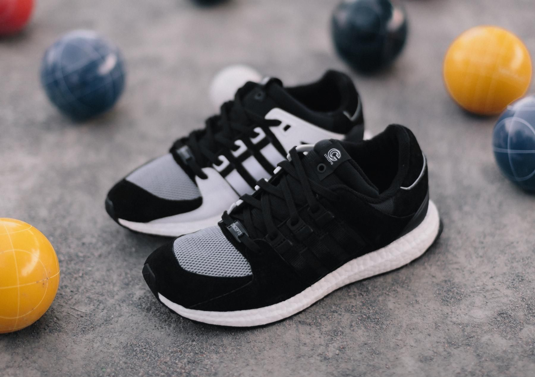 The Concepts x adidas Consortium EQT Support 93/16 Launches This Weekend.