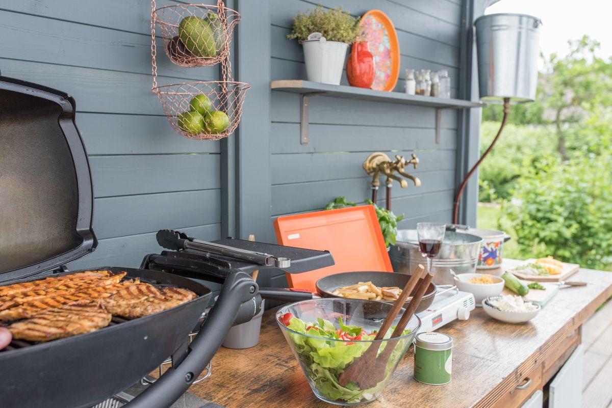 Outdoor Küche Vintage : Diy upcycling outdoor küche aus einer werkbank garten