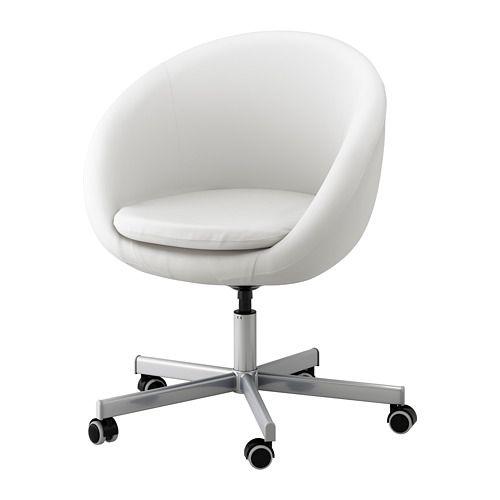 SKRUVSTA Swivel chair, Idhult white Idhult white - | Room Ideas ...