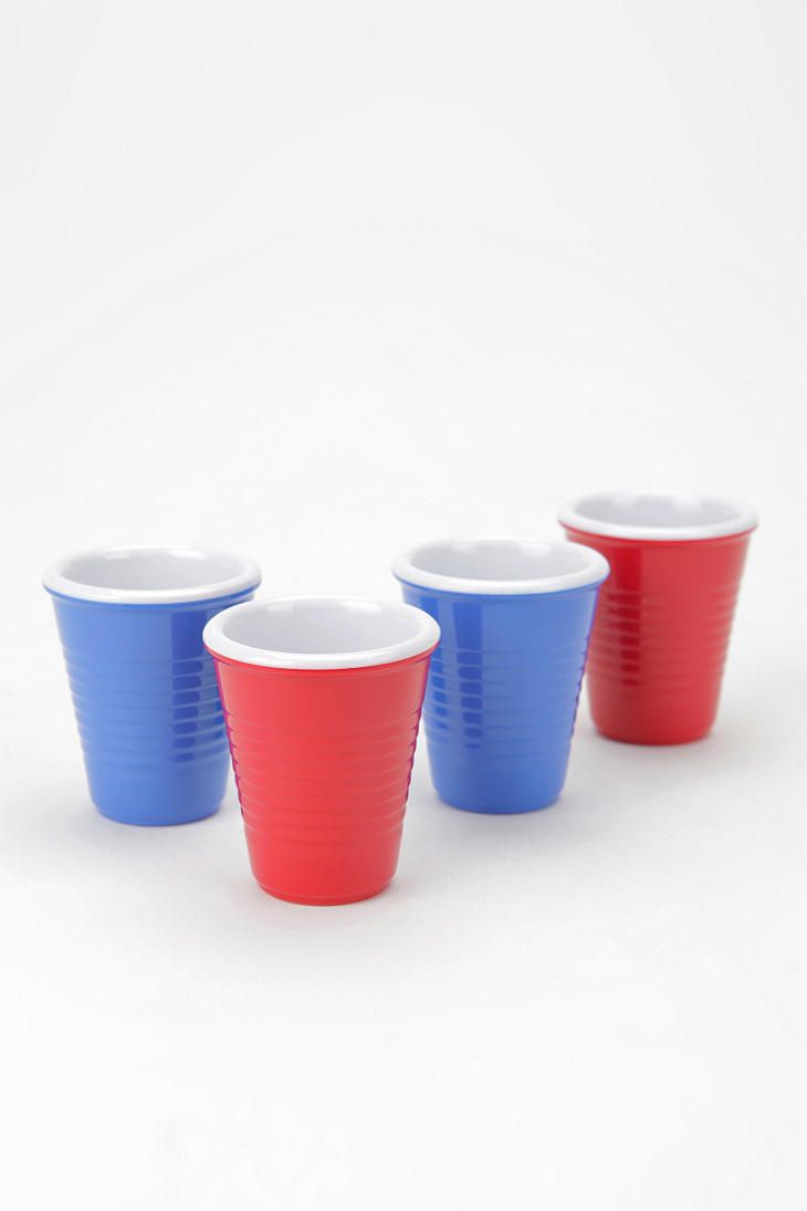 Mini Shot Cup Set Of 4 Shot Cups Solo Cup Cupping Set