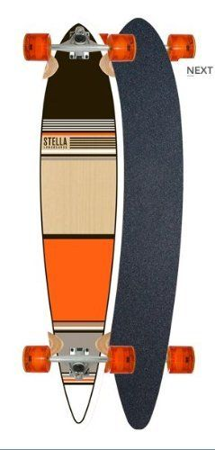 Orange Classic Pintail Longboard Complete By Stella SDS by Orange.  109.00.  The Pintails are a full 46