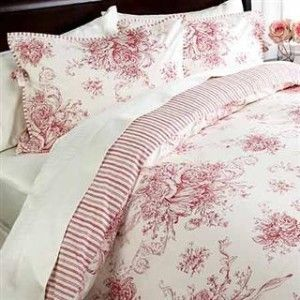 French Country Style Duvet Comforter Cover Sets Blue Toile