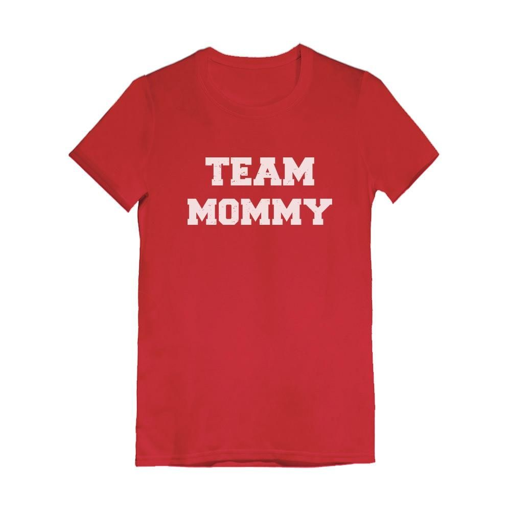 Team Mommy Infant Girls' Fitted T-Shirt #middlechildhumor